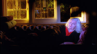 Dorothy Hewett at home in 1999.