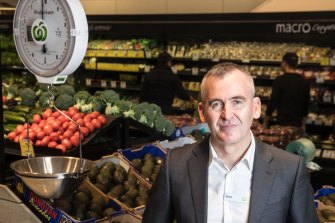 CEO of Woolworths Brad Banducci weighs the cost of underpaying workers.