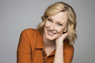 """7.30"" presenter Leigh Sales."