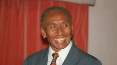 The Prime Minister of PNG, Sir Julius Chan.