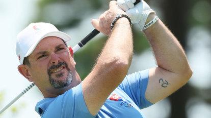 'Nonsense': Sabbatini's wife tees off at backlash over his 'three-L' tattoo