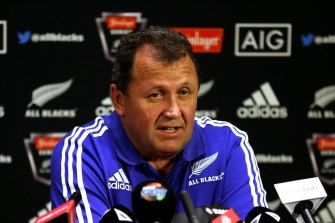 New Zealand Rugby have announced Ian Foster as the next All Blacks coach.
