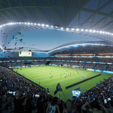 Record crowds: The new SFS will host the 2023 Women's World Cup, helping the tournament to potentially attract 1.5 million fans.
