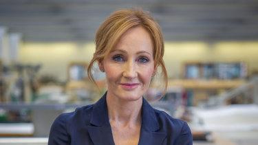Harry Potter author J.K Rowling.