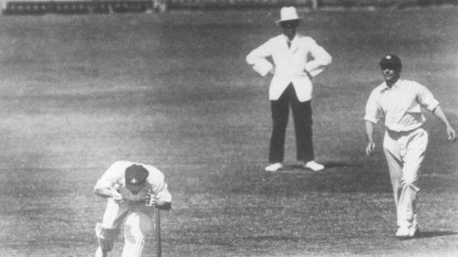 From the Archives, 1933: England deplores Australia's 'bodyline' protests