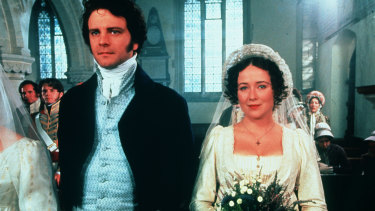 Was there something we didn't know about Mr Darcy? Colin Firth and Jennifer Ehle in the BBC's Pride and Prejudice.