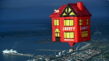 Launch of the Liberty Financial House Balloon.