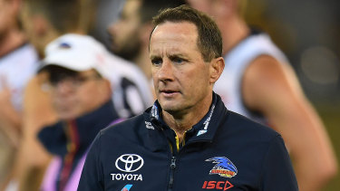 Adelaide coach Don Pyke.