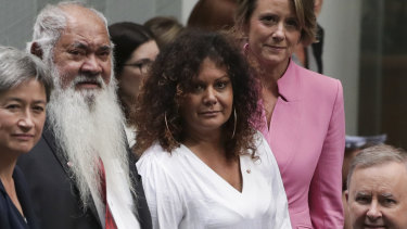 Senator Malarndirri McCarthy says getting a constitutionally-enshrined Voice to Parliament for Indigenous people is more important than a debate about the national day.