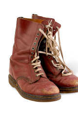 Russell Crowe's boots from Romper Stomper.