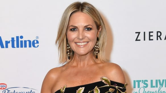 Today show host Georgie Gardner at the 2018 Logie Awards in July.