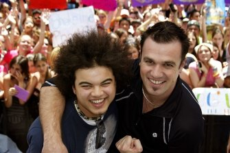 Guy Sebastian and Shannon Noll have both enjoyed lengthy careers following their appearance on Australian Idol in 2003.