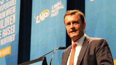 LNP Queensland President Gary Spence will resign.