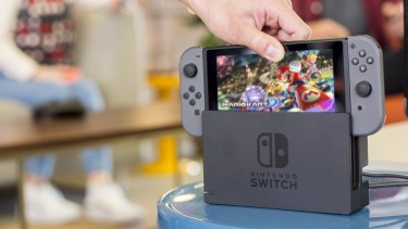 The Nintendo Switch has been flying off the shelves during the pandemic.