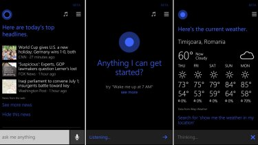 Microsoft's Cortana lives primarily on Windows 10 PCs and Xbox consoles, but like Alexa she can also live in Android phones.