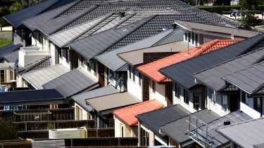 New homes are the smallest they've been since 1996, according to Australian Bureau of Statistics figures.