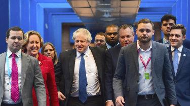 British Conservative Party Member of Parliament Boris Johnson.