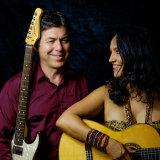 Anna Salleh and Guy Strazz Afro Latin Moods Quartet.