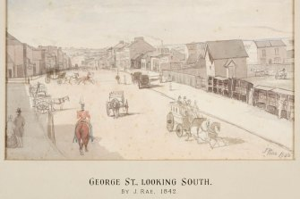 In 1840 Ann and James were charged with stealing soap from Mr Chorley's shop in George St.