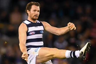 Geelong's Patrick Dangerfield will be among the stars playing in the Origin bushfire fundraising match.