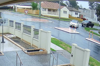 Police have released CCTV footage - showing a white Toyota Corolla and a dark-coloured Toyota HiLux - in regards to their investigations into a kidnapping in Ryde last year.
