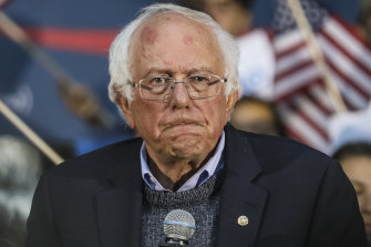 Bernie Sanders has undergone a medical procedure to have two stents inserted.
