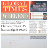 The Global Times had been turning criticism of China back at its critics for years.