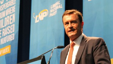 LNP Queensland President Gary Spence will resign.