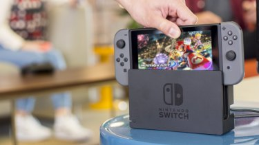 The Nintendo Switch is the system we turn to for family gaming.