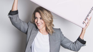 Adore Beauty co-founder Kate Morris; the beauty retailer's float crumbled further on Thursday.