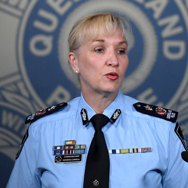 Queensland Police Commissioner Katarina Carroll announced on Friday Inspector Thompson was no longer leading the investigation into the Camp Hill murder-suicide.