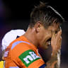 Pearce may be gone for season after Knights tame Tigers in Tamworth