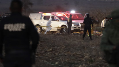 High-powered Mexican couple killed in helicopter crash