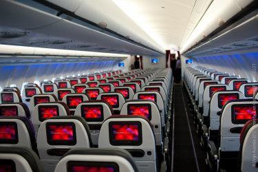 Virgin Australia Airbus A330 economy