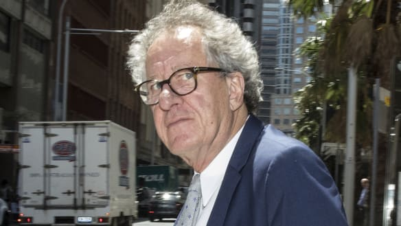 Geoffrey Rush denies text to actress was 'testing waters'