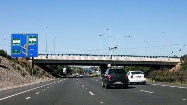 Eastlink, the Wellington Road Bridge.