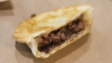 The humble meat pie is a staple of Australian culture.