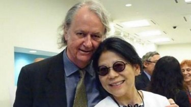Roger Uren and Sheri Yan.