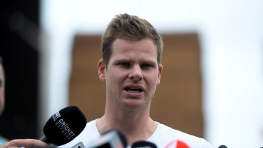 Time's up: Steve Smith is able to return to playing cricket after he was banned for his role in the ball tampering scandal.