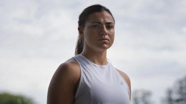 Brisbane Broncos NRLW player Millie Boyle.