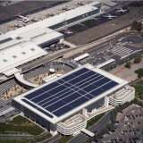 Solar panels at Adelaide Airport.
