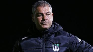 Western United FC coach Mark Rudan.