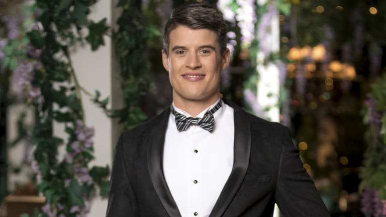 Bill, 31, scored the coveted wild rose in episode one of The Bachelorette.