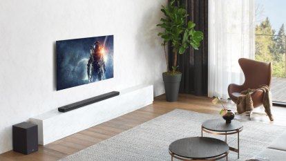 LG soundbars pack Meridian, Atmos, Google tech into slim frames