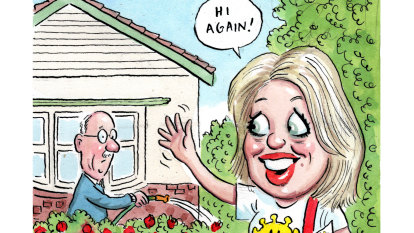CBD Melbourne: Chloe Shorten swaps politics for the picket fence