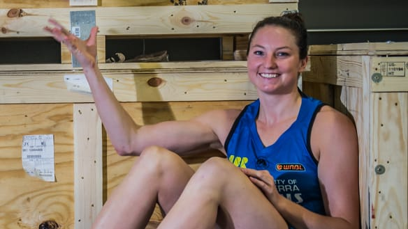 Canberra Capitals recruit Kelsey Griffin faces minor setback
