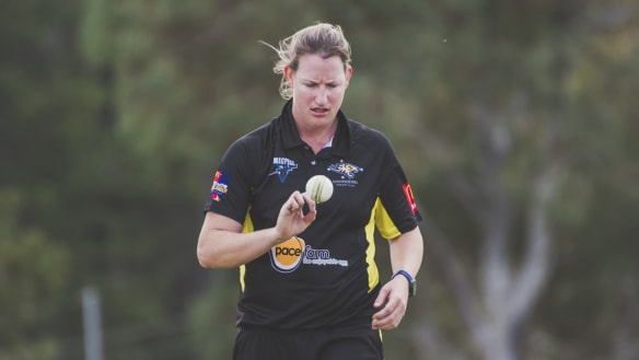 ACT Meteors star Claire Koski basks in hectic summer of cricket