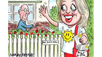 Picket fence politics for Chloe Shorten