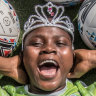 Canberra United star Mulaudzi the granddaughter of South African king