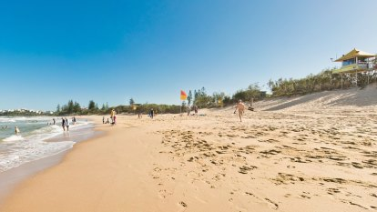 Lifeguards revive surfer on Sunshine Coast's Dicky Beach
